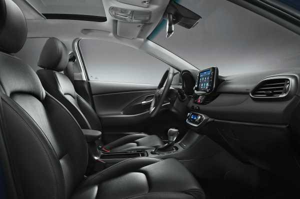 2017 Hyundai I30 European interior