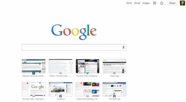 Google Chrome Changes for New Tab