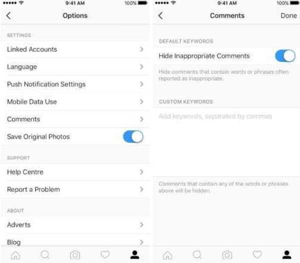 instagram moderation tool