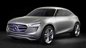 Mercedes Electric SUV Teaser