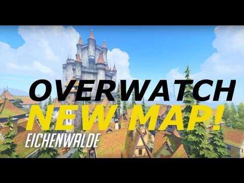Overwatch New Map Eichenwalde