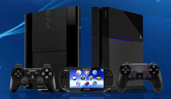 PS4, PS3 and PS Vita