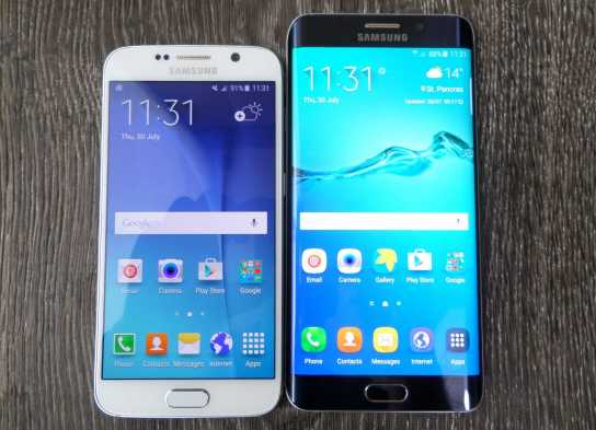 Galaxy S6 and Galaxy S6 Edge+