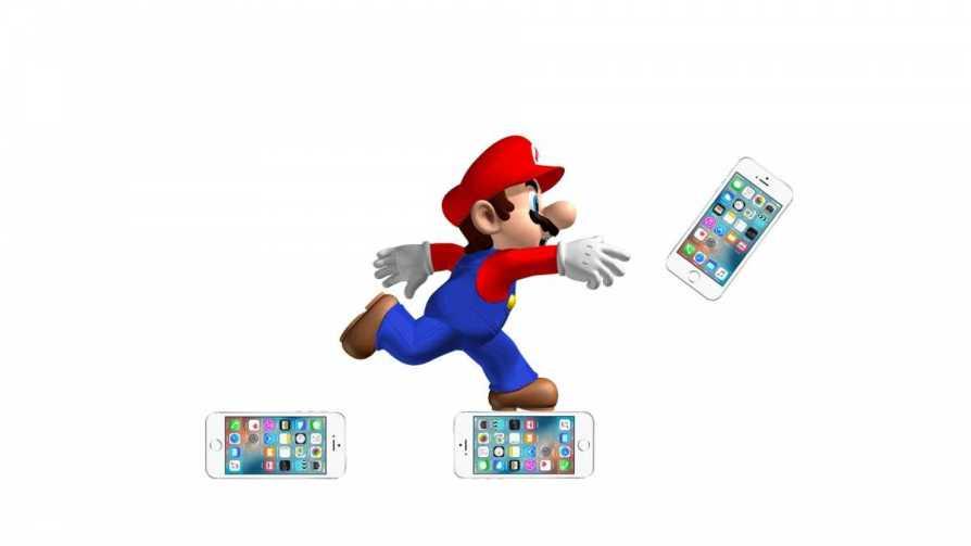 Super Mario Run On iPhone 7
