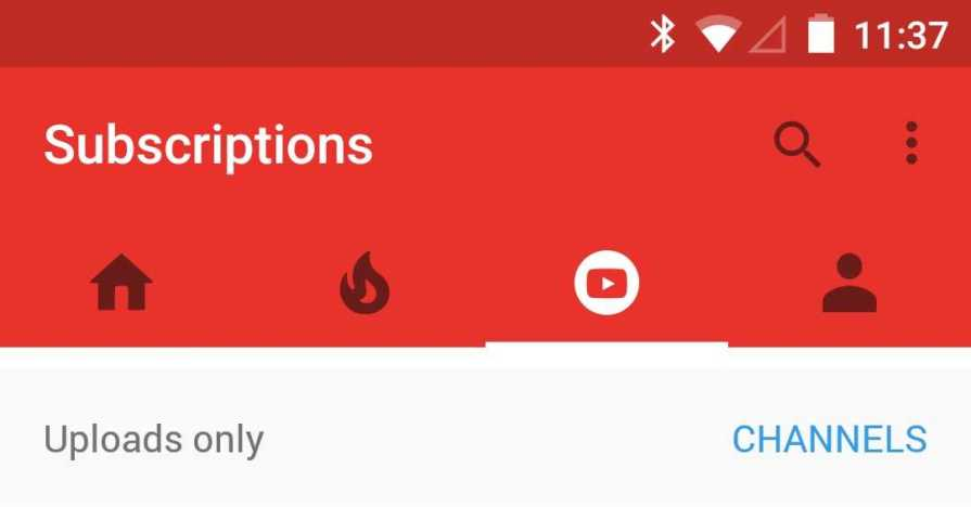 youtube-navigation-bar