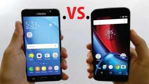 moto g4 plus vs Galaxy J7 Prime
