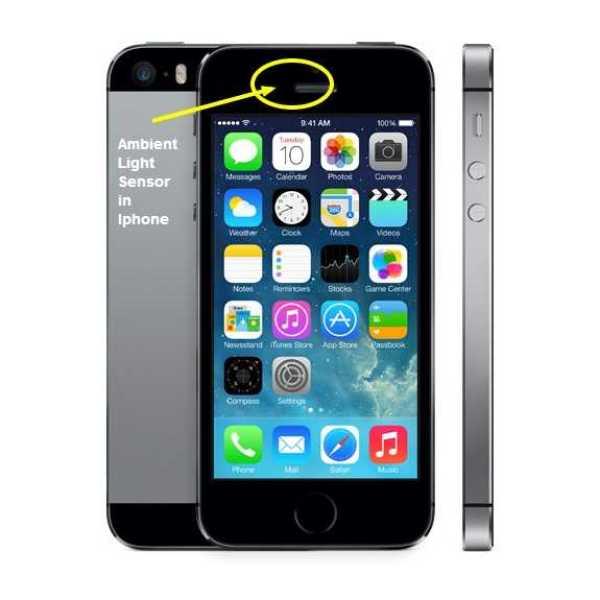 Apple Light Sensor