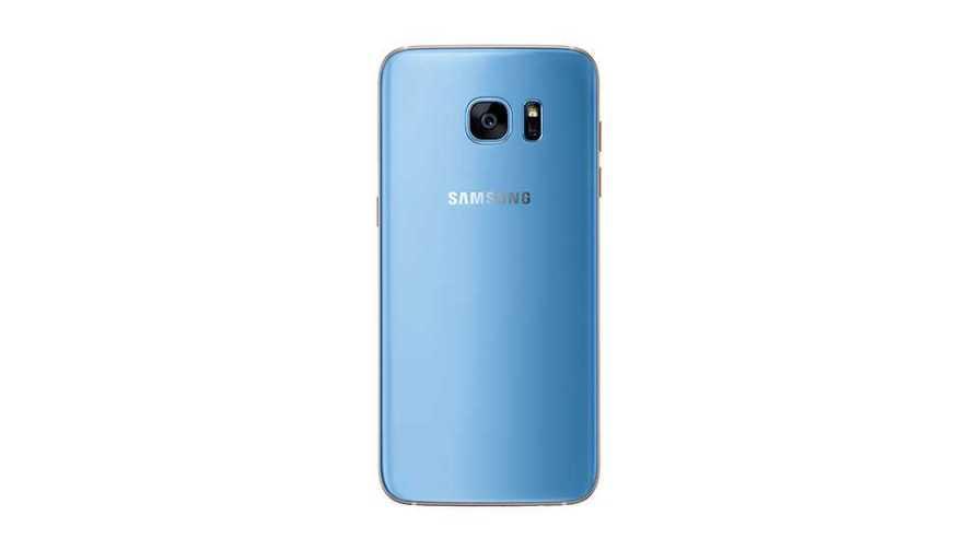 Coral Blue Galaxy S7 Edge