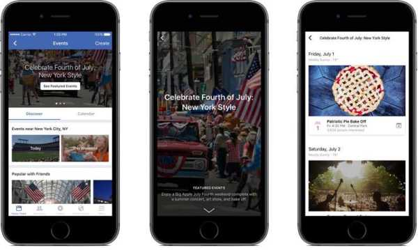 Facebook Events App for iPhone Users