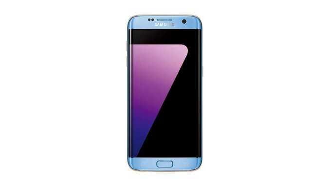 Galaxy S7 Edge Coral Blue