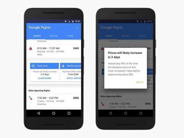 Google Flights for Saving Money