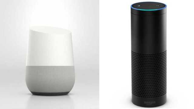 Google Home and Alexa Amazon Echo
