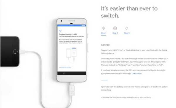 Google Pixel Quick Switch feature