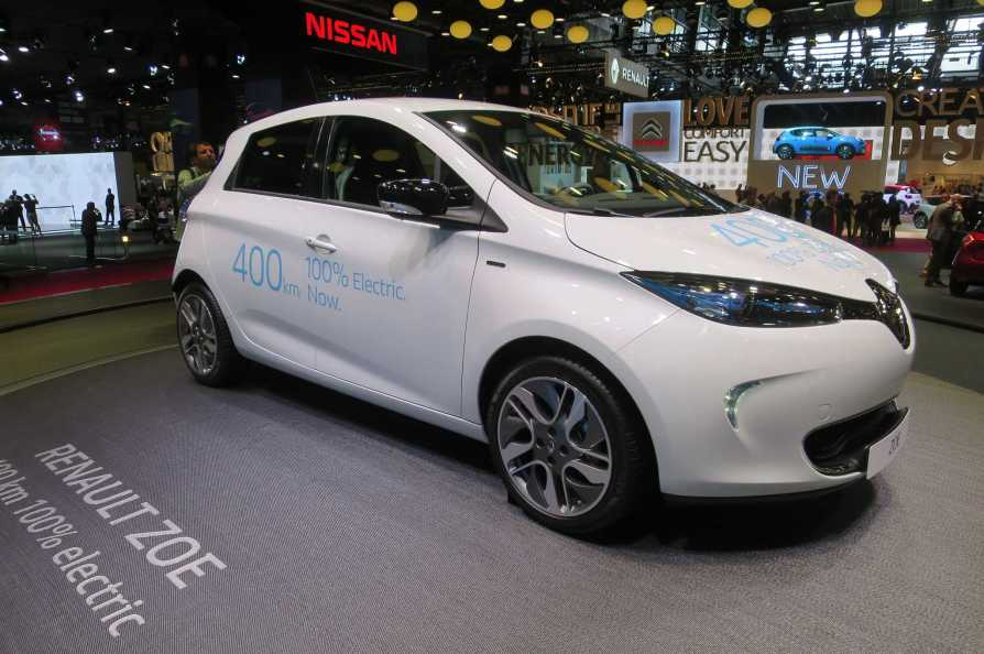 Renault Zoe Redesigned Electric Cars