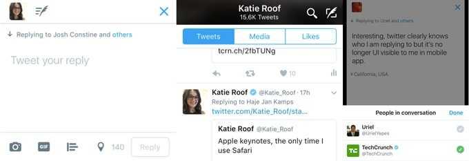 Twitter Test Removing @usernames