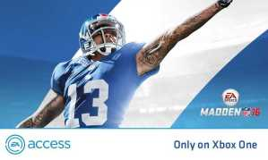 Xbox One Players Get EA Access
