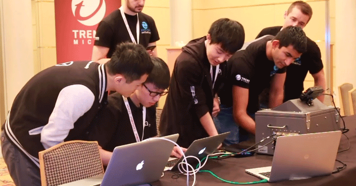 Google Nexus 6P and iPhone 6S at Mobile Pwn2Own 2016