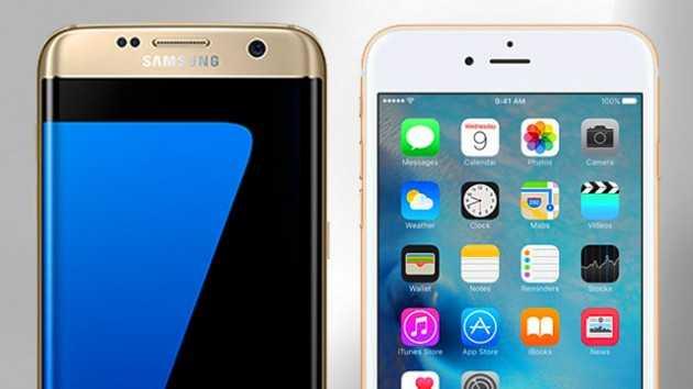 Samsung Galaxy Note vs iPhone 7 Plus