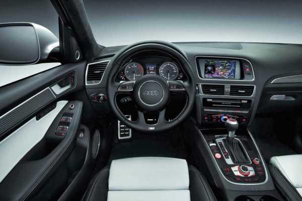 2017 Audi Q5 interior