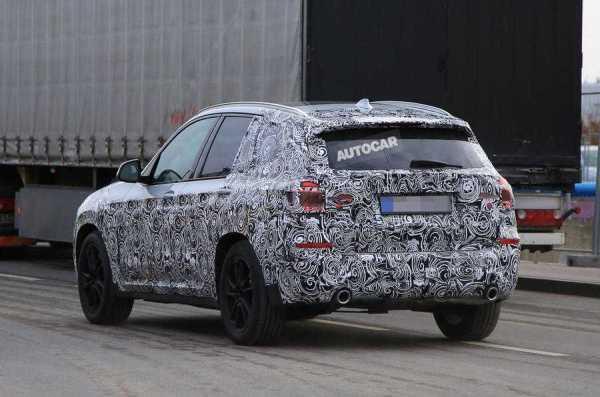 2017 BMW X3 M Spy Shots