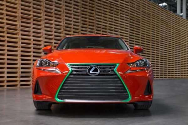 2017 Lexus Sriracha IS at LA Expo
