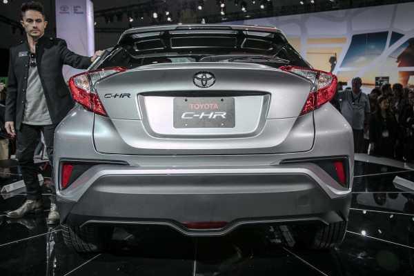 2018 Toyota C-HR Rear