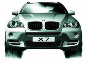 BMW X7 High End SUV