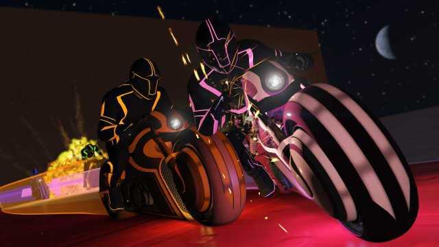 GTA 5 Futuristic Tron-inspired Mod