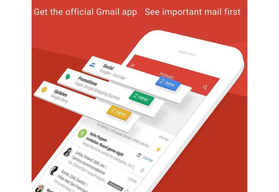 Gmail 5.0.3 for iOS