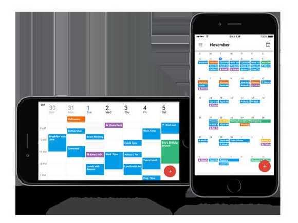 Google Update to Calendar App