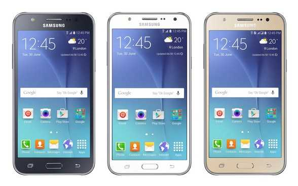 Samsung Galaxy A5, Galaxy A7 and Galaxy J3