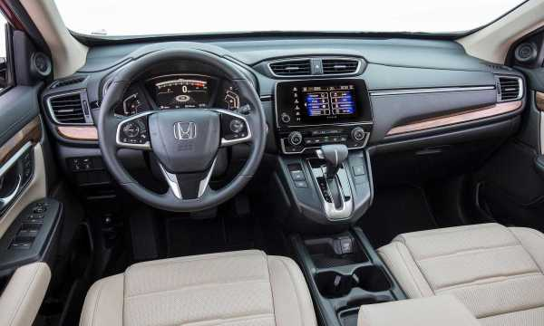 Honda CR-V Base LX Model interior
