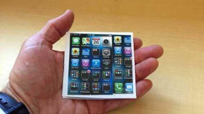 Foldable Apple iPhone