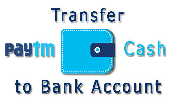 Paytm Money Transfer to Bank Accounts