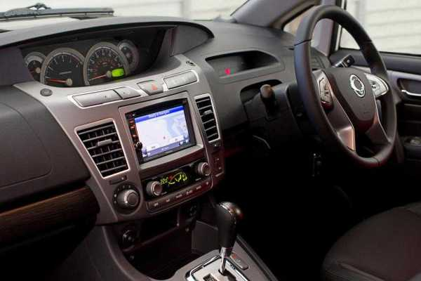 SsangYong Special Editions interior