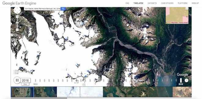 Timelapse Update in Google Earth