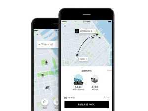 Uber App Streamlines