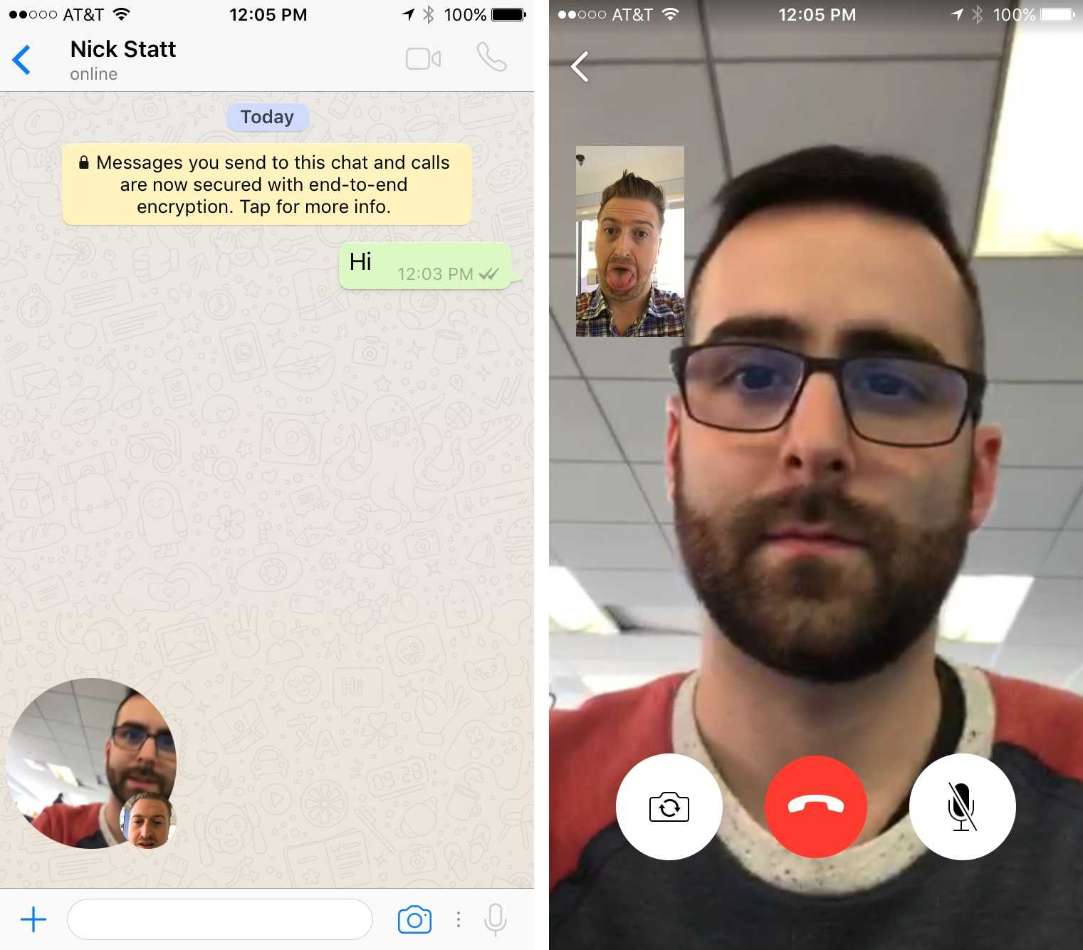 WhatsApp Video Calling Feature – The First Impressions