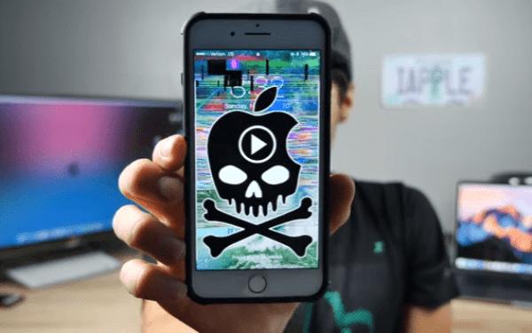 iPhone video bug