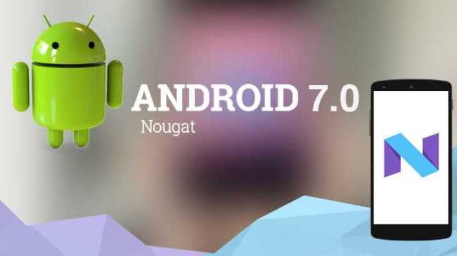 Android Nougat Update