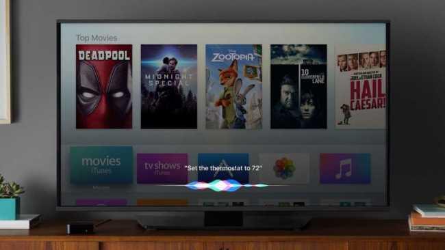 Apple TV App with iOS 10.2