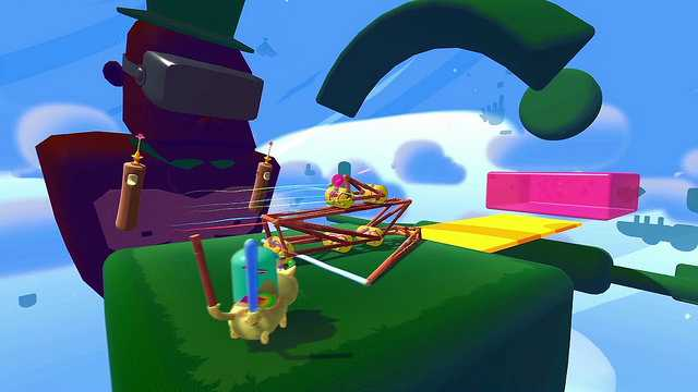 Fantastic Contraption Available on PS4 and PS VR