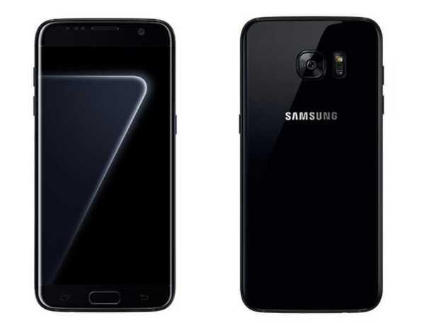 Galaxy S7 Edge Pearl Black