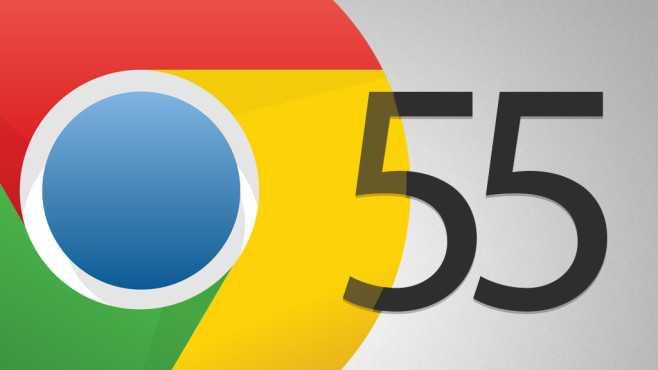 Google Chrome 55