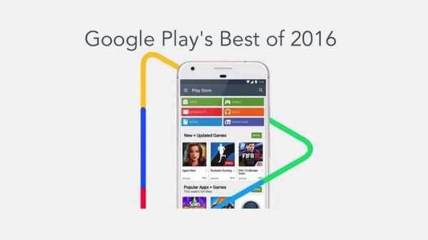 Google Play Best of 2016