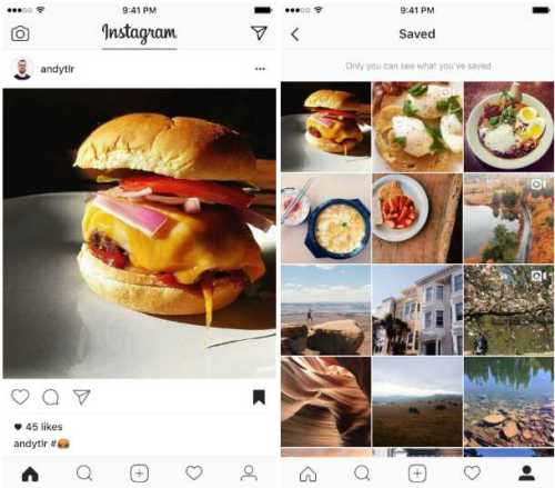 Instagram Save Posts to Your Private Collection