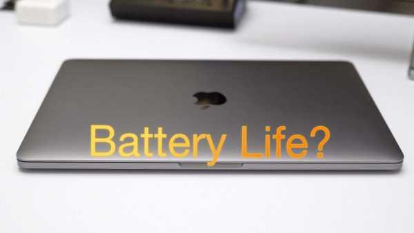 Apple MacBook Pro 2016 Battery Life