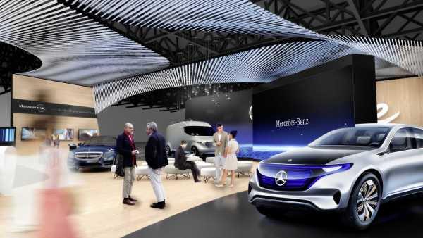 Mercedes Benz CES 2017 Plans