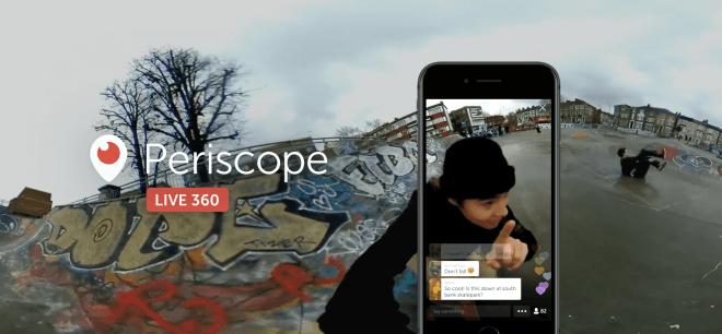 Periscope Live 360 Videos