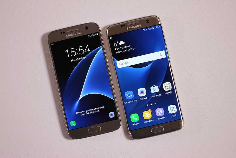 Galaxy S7 and S7 Edge